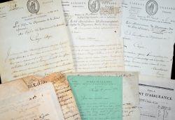 Bel ensemble de documents sur Nantes et la Loire-Atlantique dont esclavage..