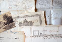 Diplôme de théologie de 1660 et autres documents anciens sur le Loiret..