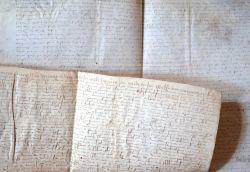 3 parchemins nivernais du XVIe..