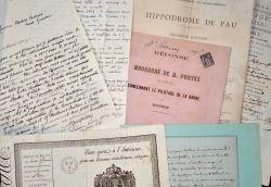 Ensemble de documents anciens sur les Pyrénées-Atlantiques..