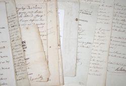Ensemble de documents anciens sur Strasbourg et le Bas-Rhin..