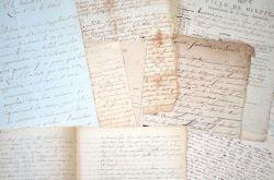 Ensemble de documents anciens sur la Seine-Maritime..