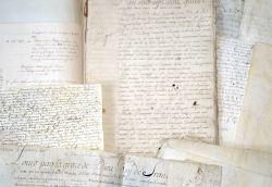 Archives de la famille Duchesnoy, XVIIe-XVIIIe, avec une signature de Colbert..