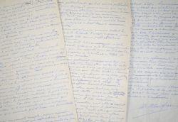 Manuscrit d'Henry de Monfreid sur l'aventure et les aventuriers.. Henry Monfreid (de) (1879-1974) Ecrivain et aventurier.