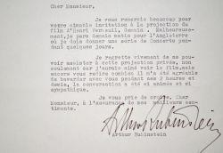 Arthur Rubinstein part pour une série de concerts en Angleterre.. Arthur Rubinstein (1887-1982) Pianiste, l'un des plus importants du XXe siècle et ...