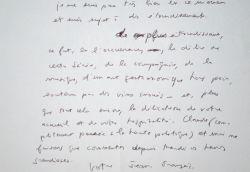 Jean-François Revel ébloui par la soirée donnée par Philippe Bouvard.. Jean-François Revel (1924-2006) Philosophe, écrivain et académicien. Essayiste ...