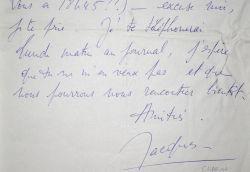 Jacques Charon rate son rendez-vous.. Jacques Charon (1920-1975) Comédien et metteur en scène de théâtre, sociétaire de la Comédie française.