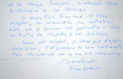 Jean Dorst candidat à l'Académie Française.. Jean Dorst (1924-2001) Ornithologue, directeur du Muséum.