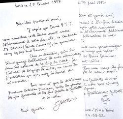 Paul Guth demande un rendez-vous à Félicien Marceau en vue d'entrer à l'Académie.. Paul Guth (1910-1997) Romancier et essayiste, lauréat du Grand prix ...