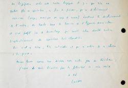 José-André Lacour dresse une lettre élogieuse sur Caterina de Félicien Marceau.. José-André Lacour (1919-2005) Romancier et dramaturge belge.