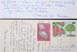 Claude de Leusse fait l'éloge de Félicien Marceau.. Claude de Leusse (1929-2008) Correspondante en France pour un journal new yorkais puis romancière. ...