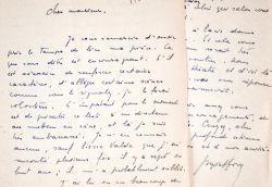 Georges Montforez remercie Félicien Marceau concernant son projet de pièce.. Georges  Montforez (1921-1974) Auteur d'ouvrages pour la jeunesse, ...
