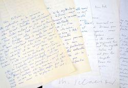 Amicales lettres de Marcel Schneider à Félicien Marceau.. Marcel Schneider (1913-2009) Écrivain français, adepte de la littérature fantastique, il ...