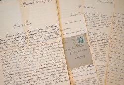 Belles lettres de membres du Groupe de Louvain au jeune Félicien Marceau..