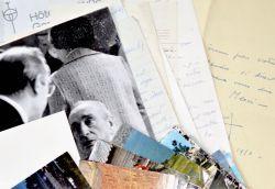 Belle correspondance amicale de Maurice Escande à Hélène Midoux.. Maurice Escande (1892-1973) Acteur, metteur en scène, sociétaire (390e), puis doyen ...