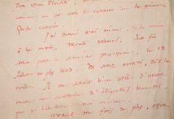 André Suarès demande à son éditeur des exemplaires de dédicace.. André Suarès (1868-1948) Ecrivain et poète, l'un des fondateurs de la N.R.F., ami de ...