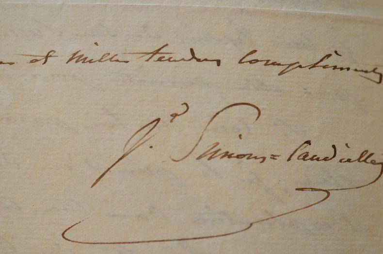 """Charmante lettre de Julie Candeille.. Julie Candeille (1767-1831) Actrice et musicienne, Fabre d'Eglantine composa pour elle """"Je t'aime tant"""" ; enfant ..."""