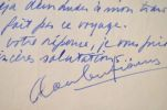 Le sculpteur grec Costa Coulentianos contrarié par le transport d'une oeuvre.. Costa Coulentianos (1918-1995) Sculpteur franco-grec moderne, élève de ...