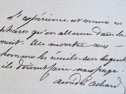 Maxime sur l'expérience du romancier marseillais, Amédée Achard.. Amédée Achard (1814-1875) Romancier et auteur dramatique français.