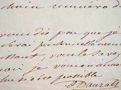 Adrien Dauzats fait la promotion d'une cantatrice.. Adrien Dauzats (1804-1868) Peintre orientaliste et romantique.