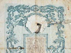 Relique de la Vierge de Lorette (Loreto) avec attestation..