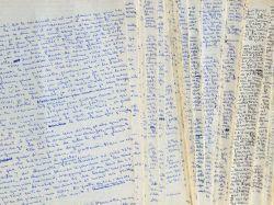 Manuscrit complet du roman de François Mallet-Joris, Les Personnages.. Françoise Mallet-Joris (1930-2016) Romancière, prix Fémina (1958), membre de ...