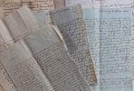 Longues lettres du premier évêque d'Annecy, Mgr de Thiolliaz.. Claude-François de Thiollaz (1752-1832) Prélat savoyard, il fut le 1er évêque d'Annecy ...