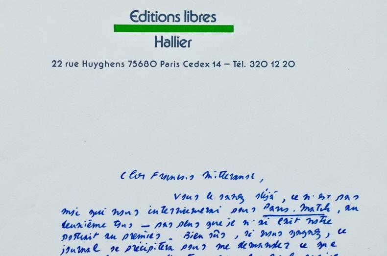 Jean-Edern Hallier s'adresse à François Mitterrand pendant l'entre-deux tours. Jean-Edern Hallier (1936-1997) Écrivain, pamphlétaire et polémiste ...