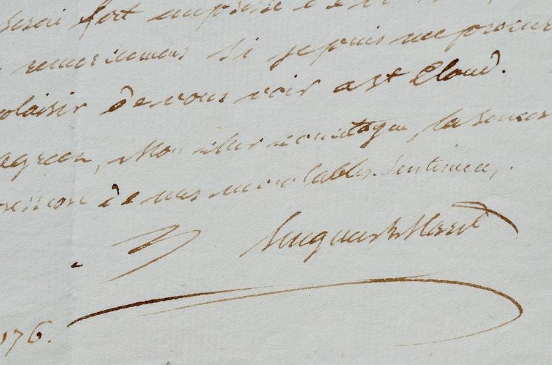 Hugues Maret obtient une entrevue auprès du Premier Consul. Hugues Bernard Maret (duc de Bassano) (1763-1839) Secrétaire d'Etat, il est ensuite ...