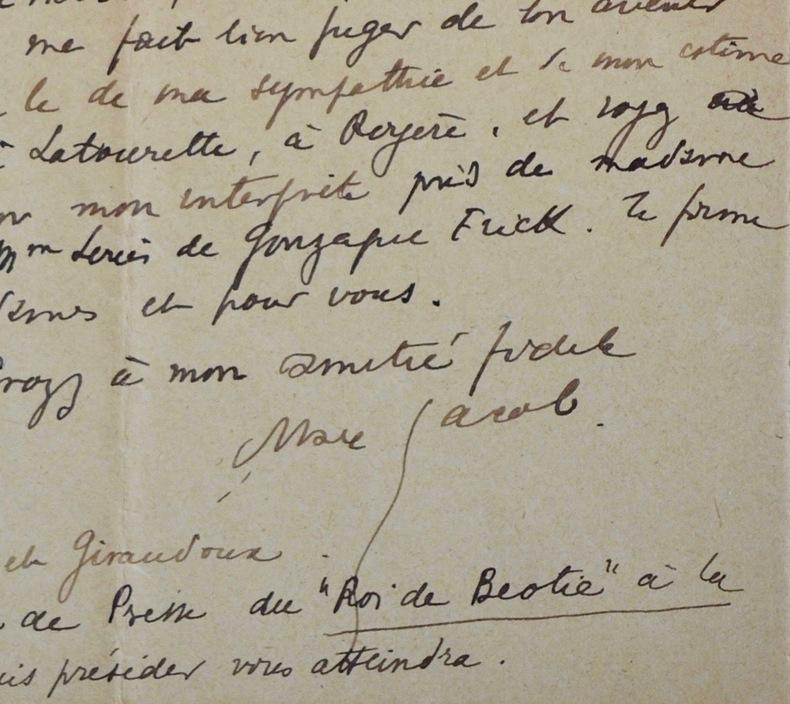 Amusantes lettres de Max Jacob adressées à Louis de Gonzague-Frick. Max Jacob (1876-1944) Poète et écrivain, ami d'Apollinaire et de Picasso, l'un des ...