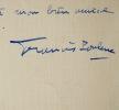"""Poulenc : """"Écrire, ce n'est pas mon métier"""". Francis Poulenc (1899-1963) Compositeur et pianiste français."""