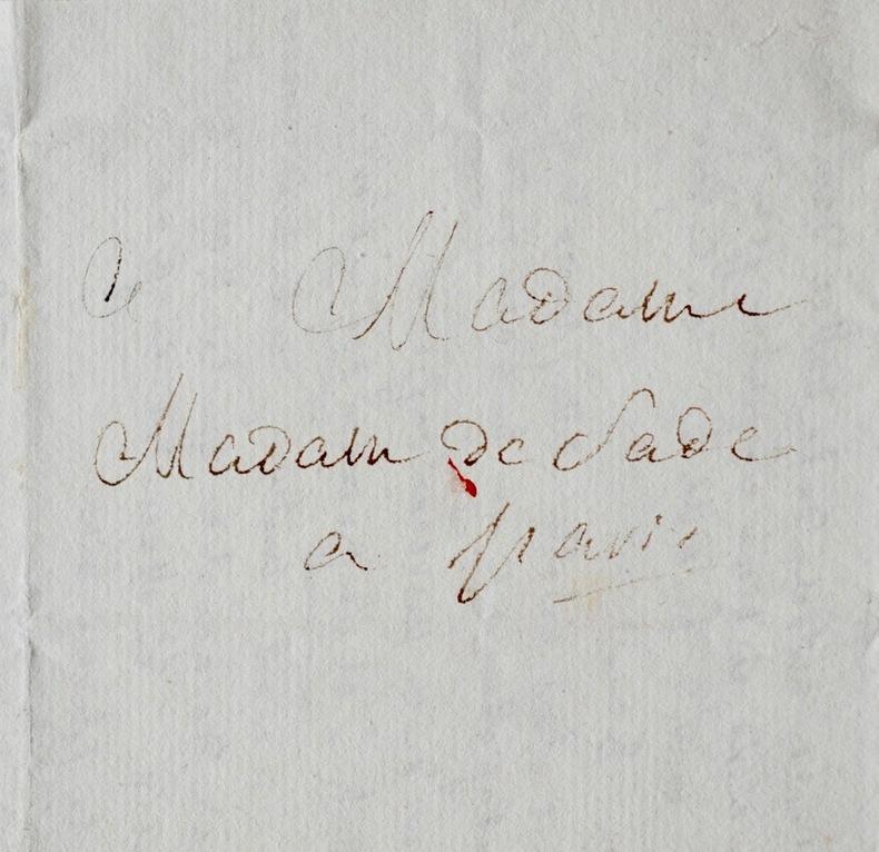 Rare lettre littéraire du marquis de Sade, sur sa pièce Tancrède. Donatien Alphonse François de Sade (1740-1814) Écrivain sulfureux, auteur de ...