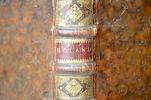 Manuscrit complet de la tragédie lyrique de Lully, Roland.. Jean-Baptiste Lully (1632-1687) Compositeur et violoniste baroque, surintendant de la ...
