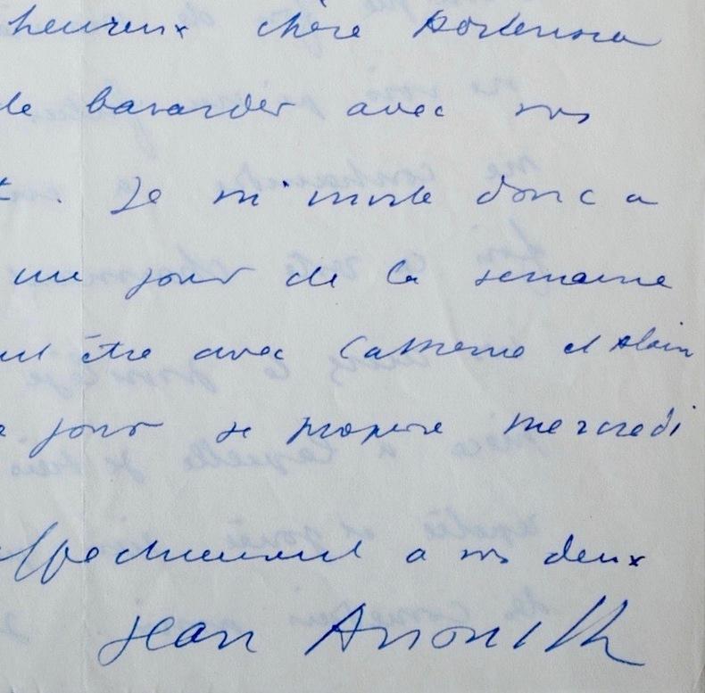 Jean Anouilh se confie : sa famille, ses ennuis, Antigone à New York, sa maison.... Jean Anouilh (1910-1987) Auteur dramatique français.