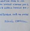 """Félicien Marceau salue l'ouvrage """"La Maison de Jade"""". Félicien Marceau (1913-2012) Romancier, auteur dramatique etessayiste français d'origine belge, ..."""