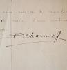Correspondance du photographe Pierre Choumoff. Pierre Choumoff (1872-1936) Photographe franco-russe.