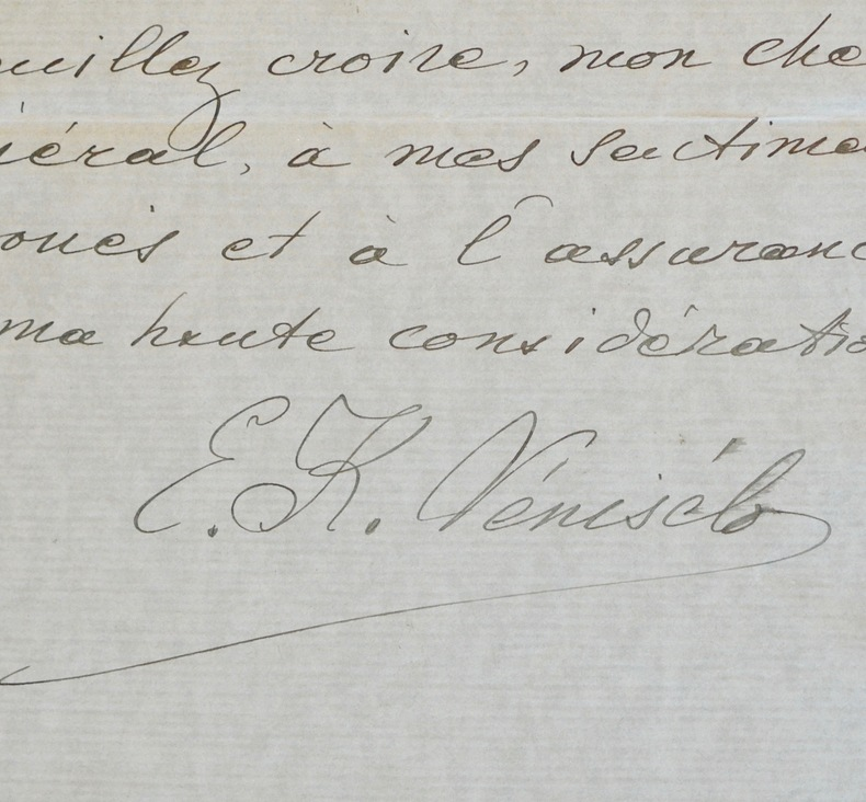 Le premier ministre grec, Elefthérios Venizélos, fait lever des troupes en 1918. Elefthérios Kyriákou Venizélos (1864-1936) Homme d'Etat grec, ...