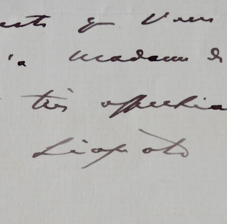 Le roi Léopold II de Belgique se fait faire le portrait. Léopold II (1835-1909) Roi des Belges (1865/1909), succédant à son père Léopold 1er. Par sa ...
