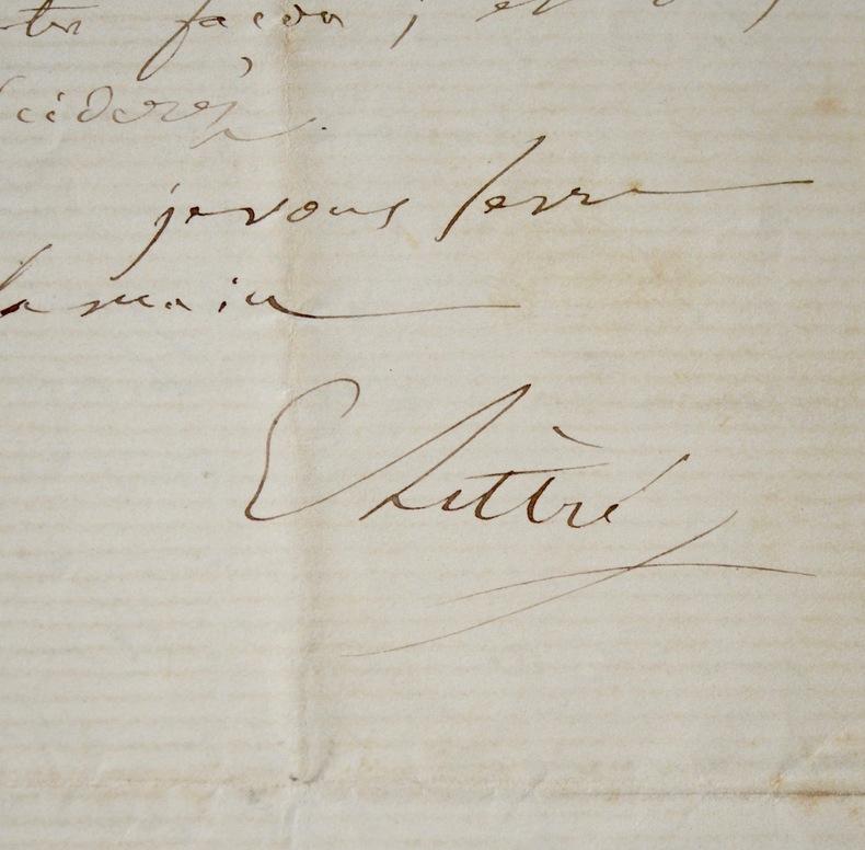 Importante correspondance d'Émile Littré, sur une période de 14 ans. Émile Littré (1801-1881) Philosophe, il est également lexicographe, surtout connu ...