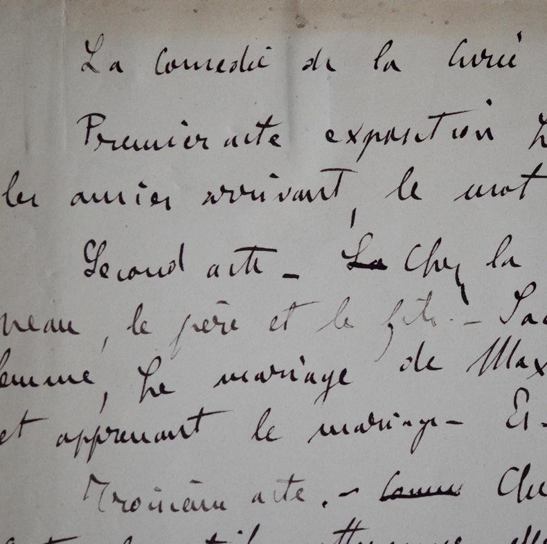 """La Curée, adaptée au théâtre par Émile Zola sous le titre de """"Renée"""". Émile Zola (1840-1902) Romancier français, chef de file du naturalisme."""