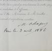 Chaper : rapport de mission sur la côte nord du Venezuela. Maurice Chaper (1834-1896) Naturaliste,paléontologue etgéologue,président de la Société ...