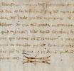 Jugement pour coups et blessures, daté de 1260.