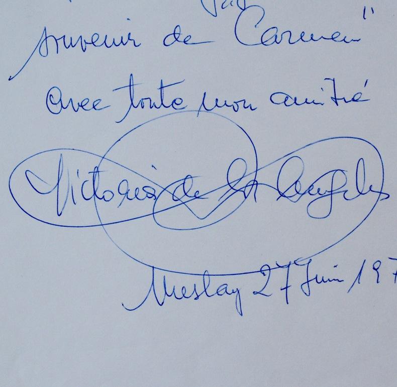 Victoria de los Àngeles interprète Carmen. Victoria de los Ángeles  (1923-2005) Soprano espagnole.