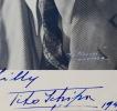 Dédicace de Tito Schipa. Tito Schipa (1888-1965) Ténor italien, compté parmi les plus grands chanteurs d'opéra du XXesiècle.