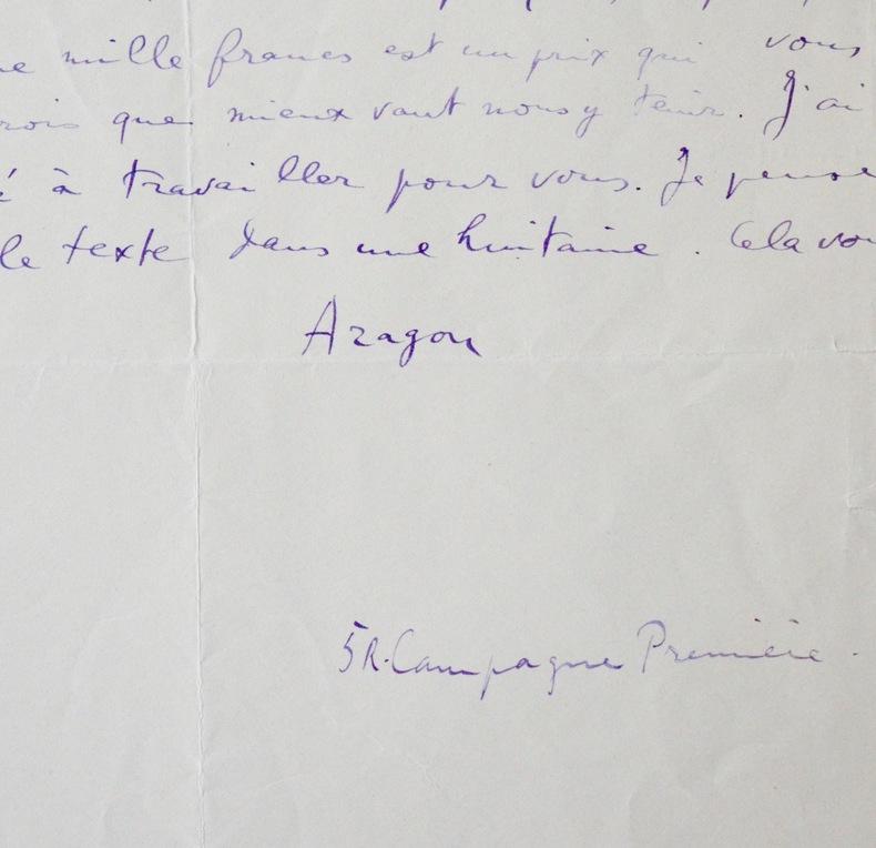 Aragon évoque les effets de sa Critique du Traité du style. Louis Aragon (1897-1982) Poète français, proche du Dadaïsme et du Surréalisme.