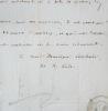 Jolie lettre d'Henri Lacordaire. Henri Dominique Lacordaire (le père) (1802-1861) Dominicain, l'un des plus brillants orateurs du XIXe, académicien ...