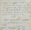 Du cours des l'assignats dans l'Aveyron, pendant la Révolution.
