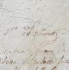 Billet de l'architecte de la Renaissance italienne Ottaviano Schiratti. Ottaviano Schiratti da Perugia (?-1571) Sculpteur etarchitecte de la ...