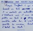 Truffaut résume Hitchcock avec les mots d'Henry James. François Truffaut (1932-1984) Cinéaste français, l'un des fondateurs de la Nouvelle vague.