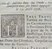 Monseigneur de Belsunce, labbé Feraporte et la bulle Unigenitus.